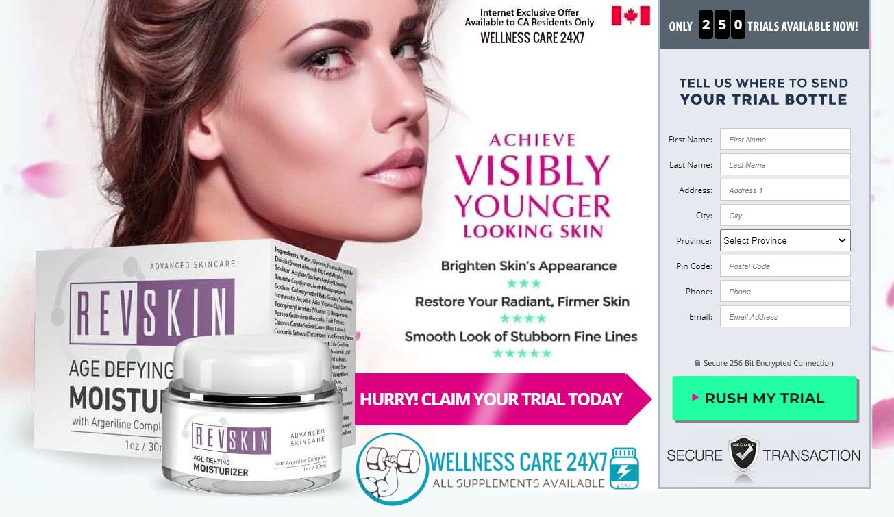RevSkin Cream Canada buy