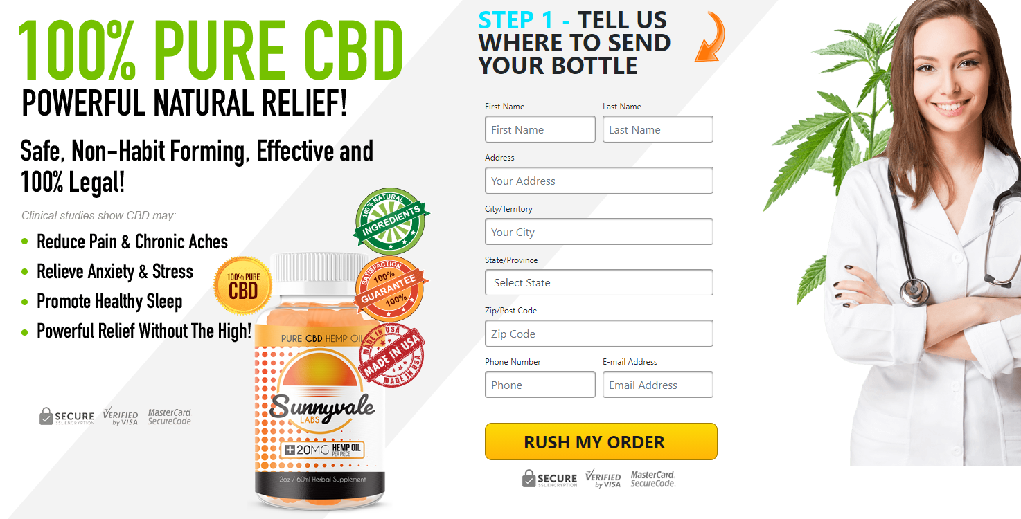 Sunnyvale Labs CBD Gummies: Reviews, Fast Relief, Best Deal, Price, Works & Buy!