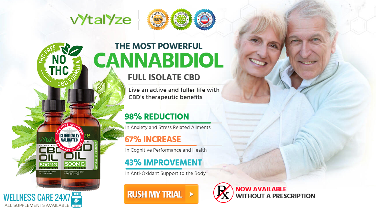 Vytalyze CBD Oil Reviews buy
