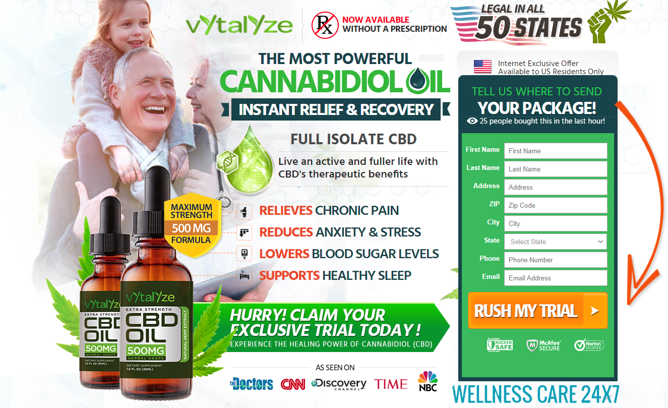 Vytalyze CBD Oil Reviews