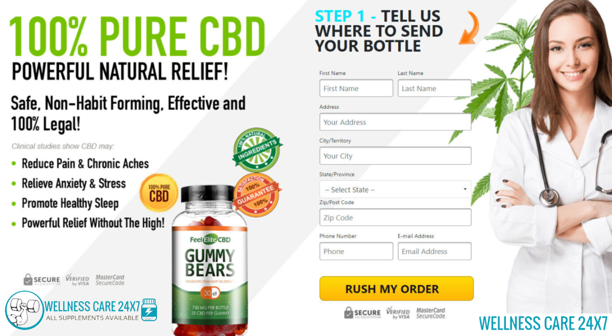 Feel Elite Cbd Gummies : Will Diminish The Snapshot Of Recuperating After An Activity.