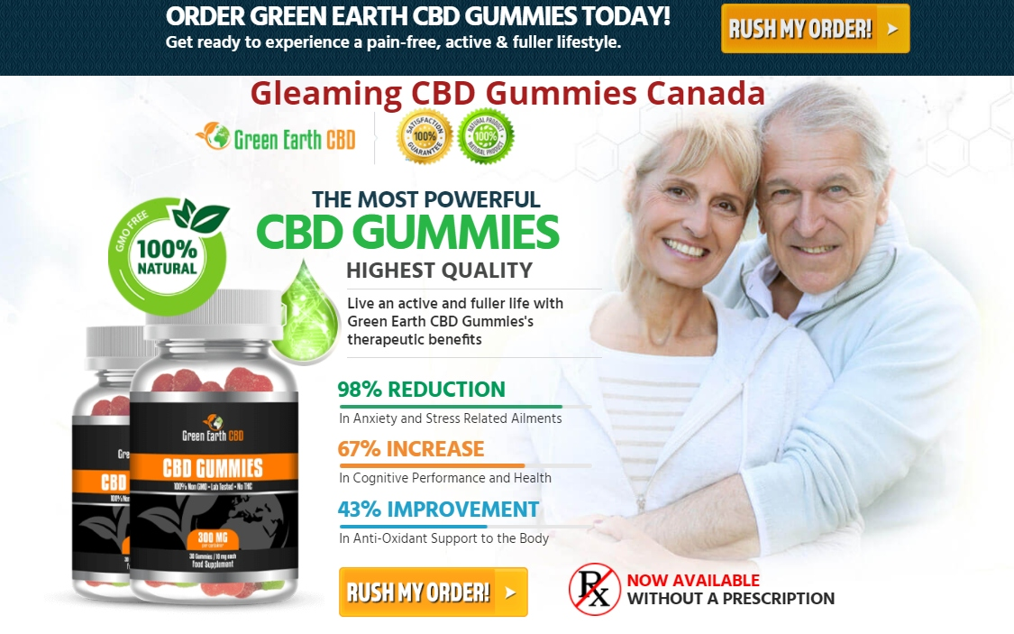 Gleaming CBD Gummies CA