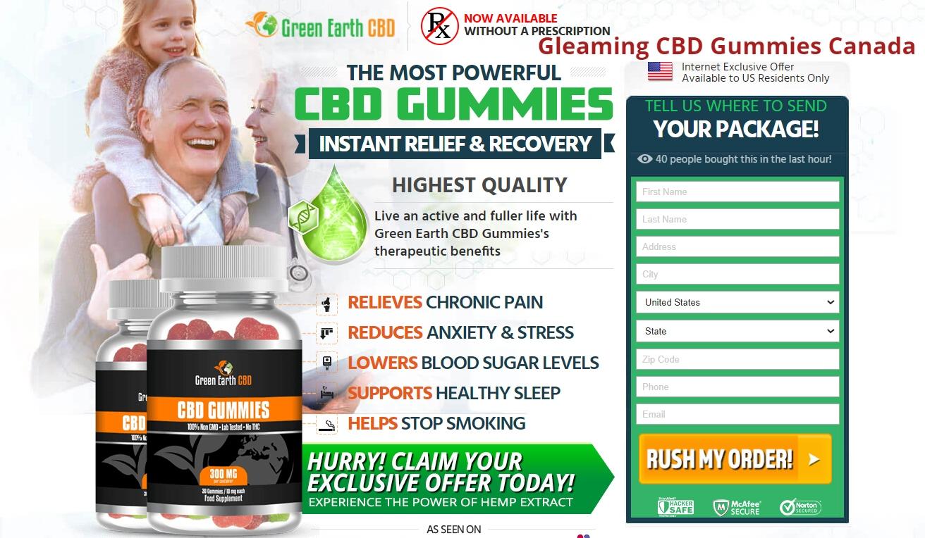 Gleaming CBD Gummies Canada