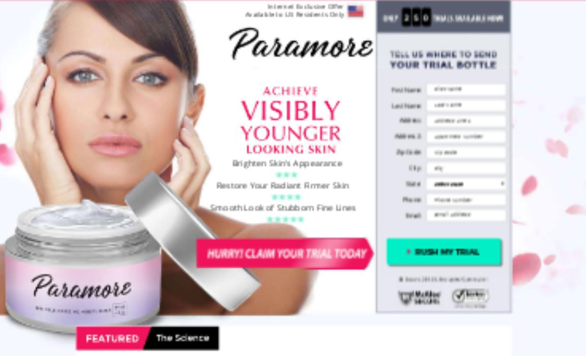 Paramore Skin Cream buy